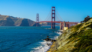 Photography of the Bridge of Sans Francisco in the United-States