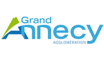 Grand Annecy's logo. customer of the professional photographer and filmmaker Simon Morice